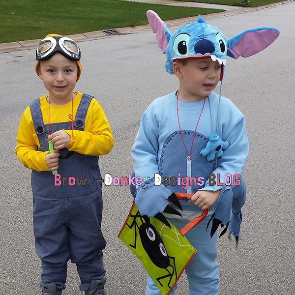Making A Diy Stitch Costume Brown Donkey Designs Blog